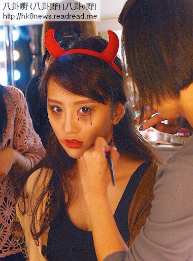 化鬼樣 <br><br>化妝期間, DaDa不時對化妝師說:「我真心覺得呢個妝好襯我,好鬼靚,仲愈睇愈性感㖭!」
