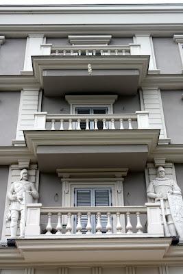 Building in Tirana Albania