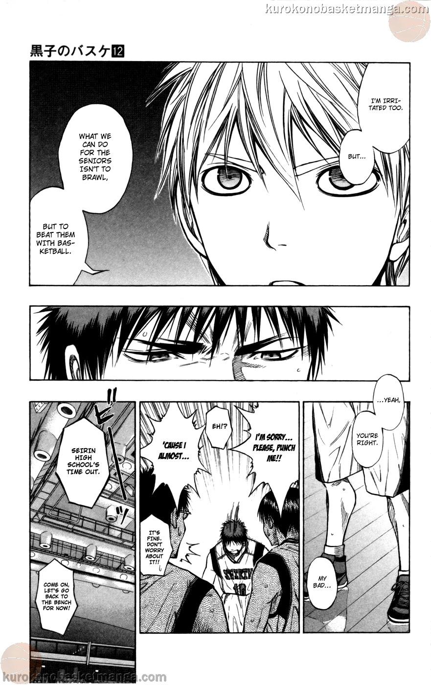 Kuroko no Basket Manga Chapter 102 - Image 05