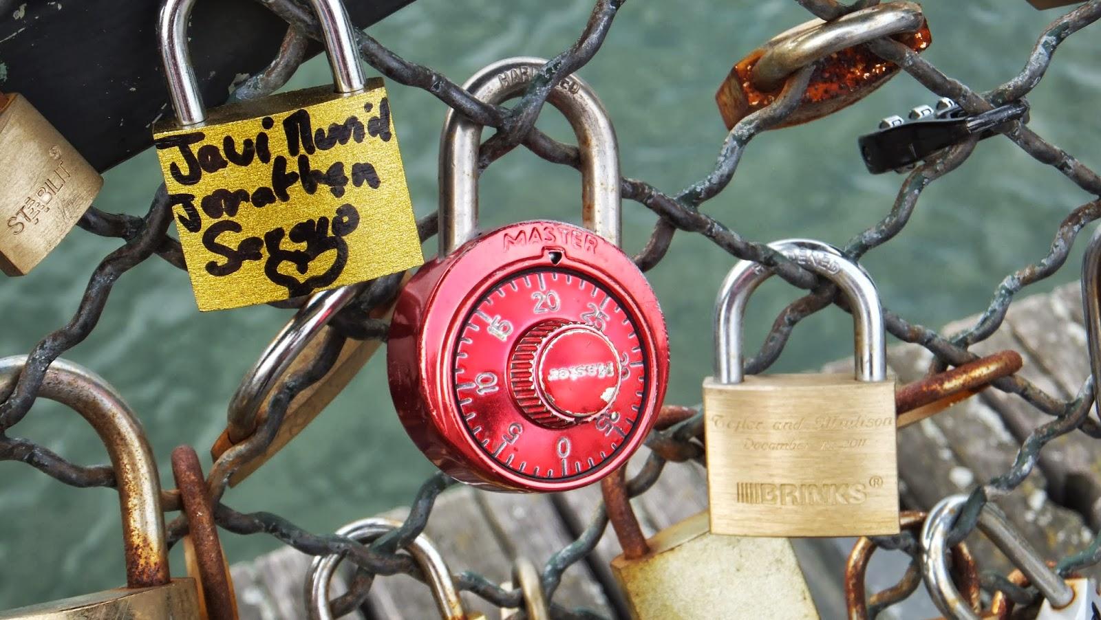 Candados, Puente de las Artes, Sena, París, Elisa N, Blog de Viajes, Lifestyle, Travel