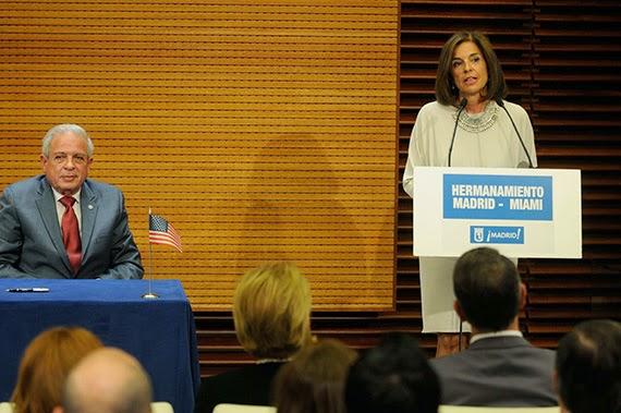 Hermanamiento entre las ciudades de Madrid y Miami
