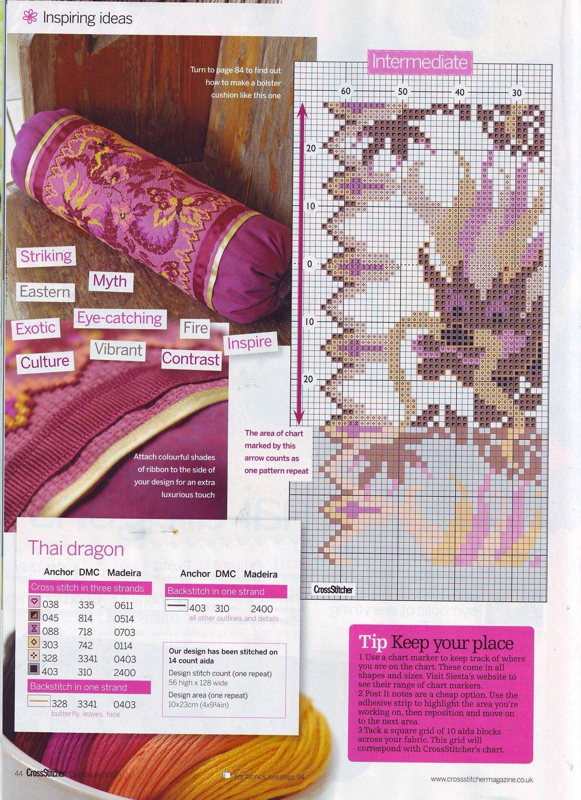 Схема вышивки дракона бесплатно фото 422