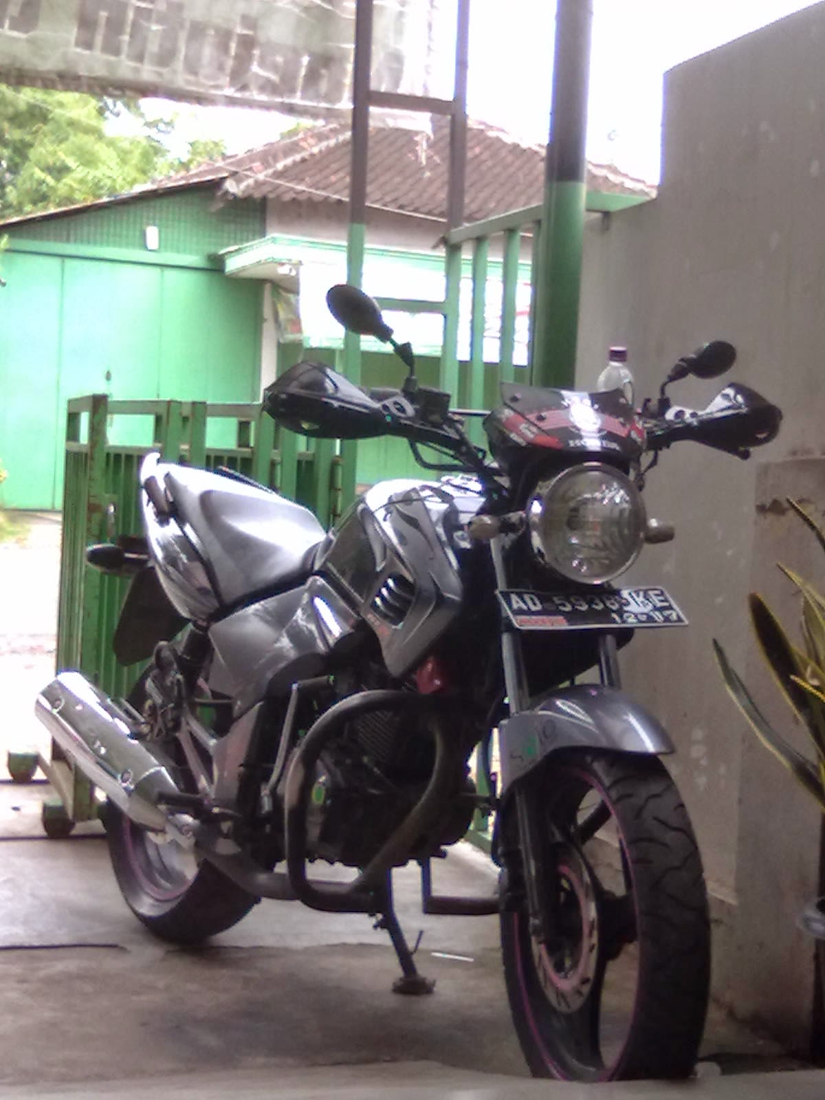 modifikasi motor tiger street fighter