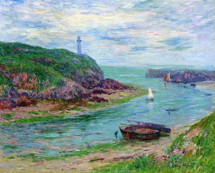 Henry Moret - Doelan, Low Tide