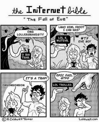 Internet Bible The Fall Of Eve Comic