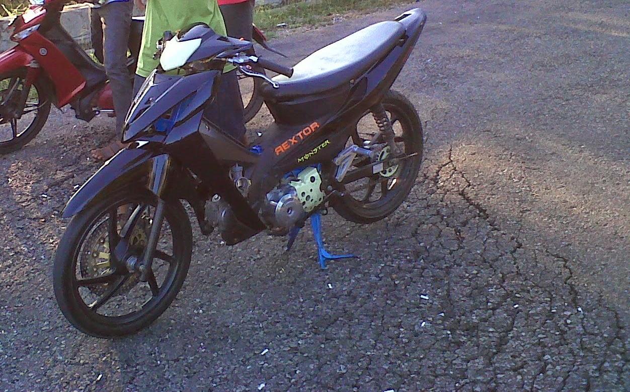 99 Gambar Motor Drag Honda Revo Terkeren Kewak Motor