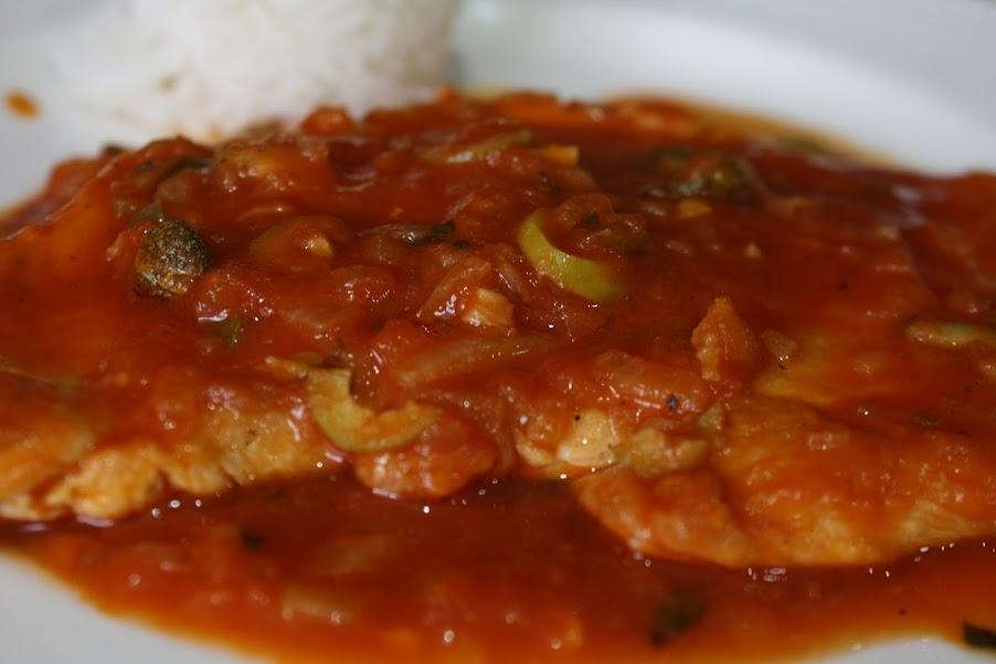 Chicken Veracruz