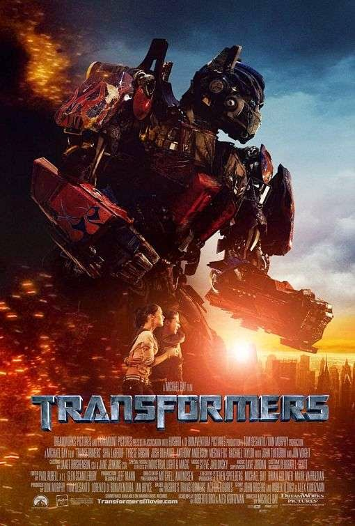 Poster Of Transformers (2007) Full Movie Hindi Dubbed Free Download Watch Online At Alldownloads4u.Com