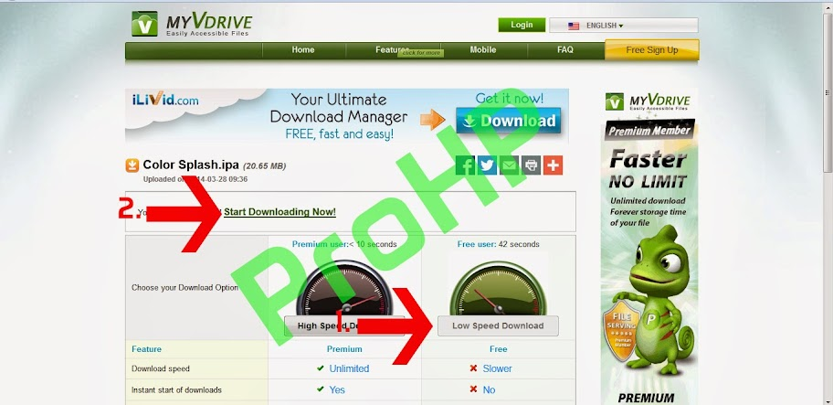 How to Download from myVdrive