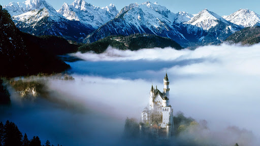 Neuschwanstein Castle From Above, Germany.jpg