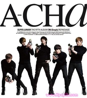"""Super Junior ปล่อย """"A-Cha"""" อัลบั้มรีแพ็คเกจ ออกมาแล้ว"""