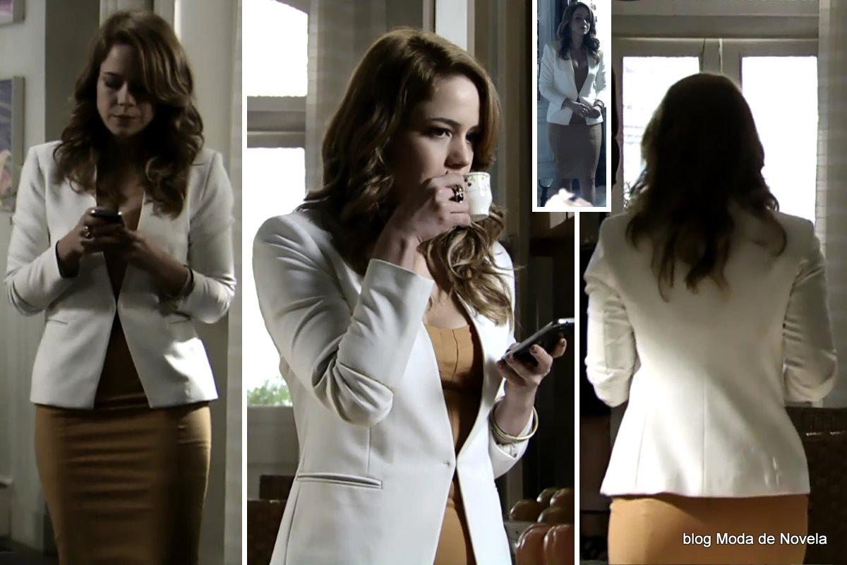 moda da novela Império, look da Cristina dia 5 de janeiro de 2015