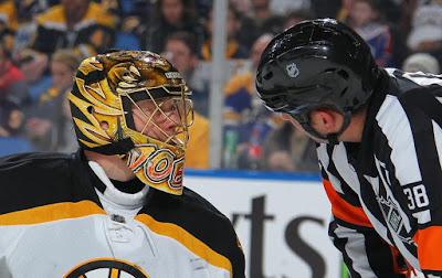 Bruins goalie Anton Khudobin