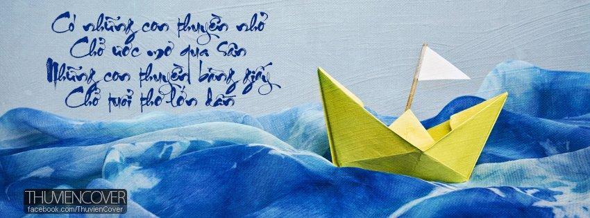 Ảnh bìa chiếc thuyền tuổi thơ
