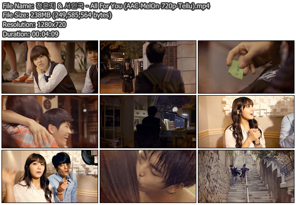 [MV] Eunji (A Pink) & Seo In Guk   All For You (Replay 1997 OST) (MelOn HD 720p)