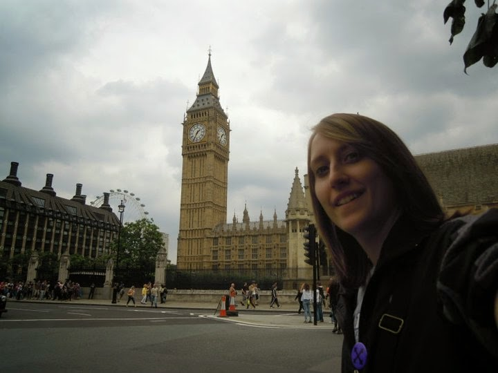 Heather Robinette in London - #StudyAbroadBecause the world awaits you