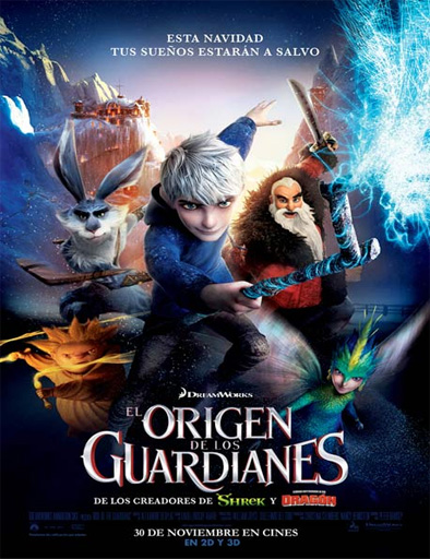 Poster de El origen de los guardianes
