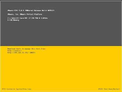 Actualizar VMware ESXi 5.0 a 5.1