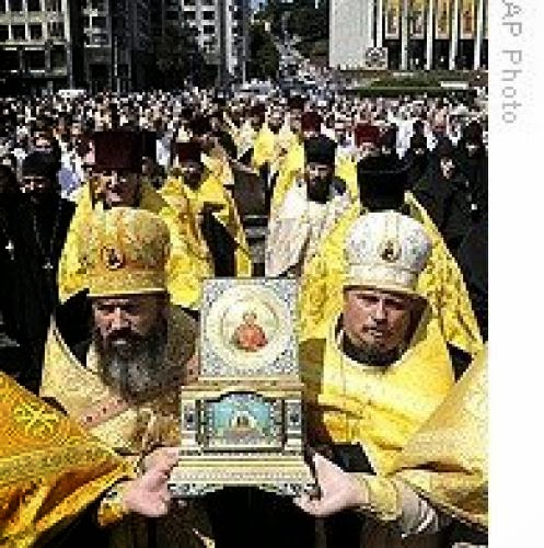Ukraine And Russia Face Off Over Christian Orthodoxy
