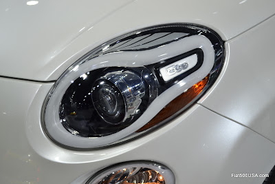 Fiat 500L headlight