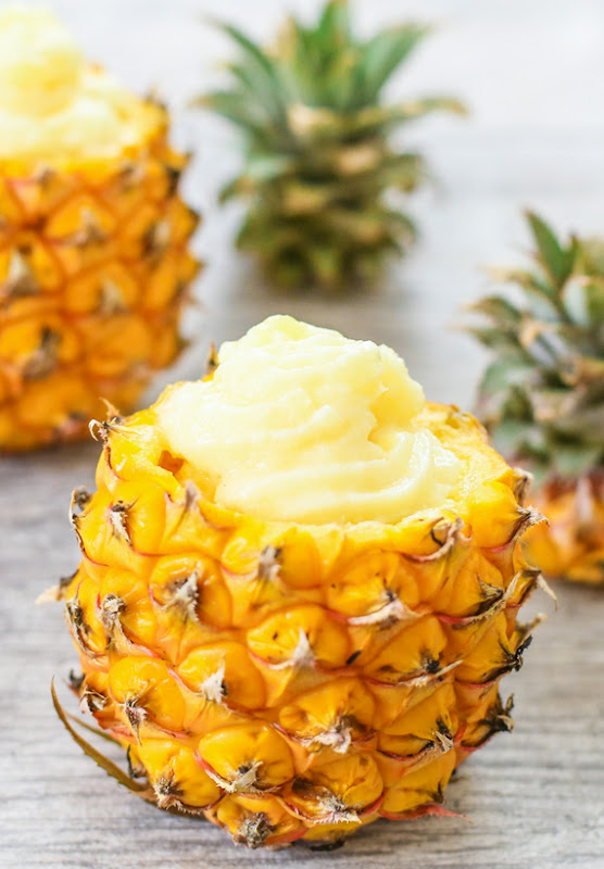 photo of a Pineapple Dole Whip