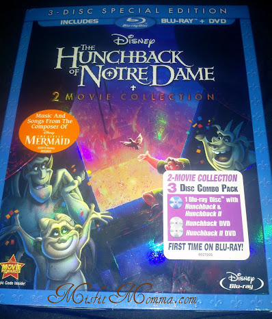 The Hunchback of Notre Dame I & II Blu-ray Combo Pack