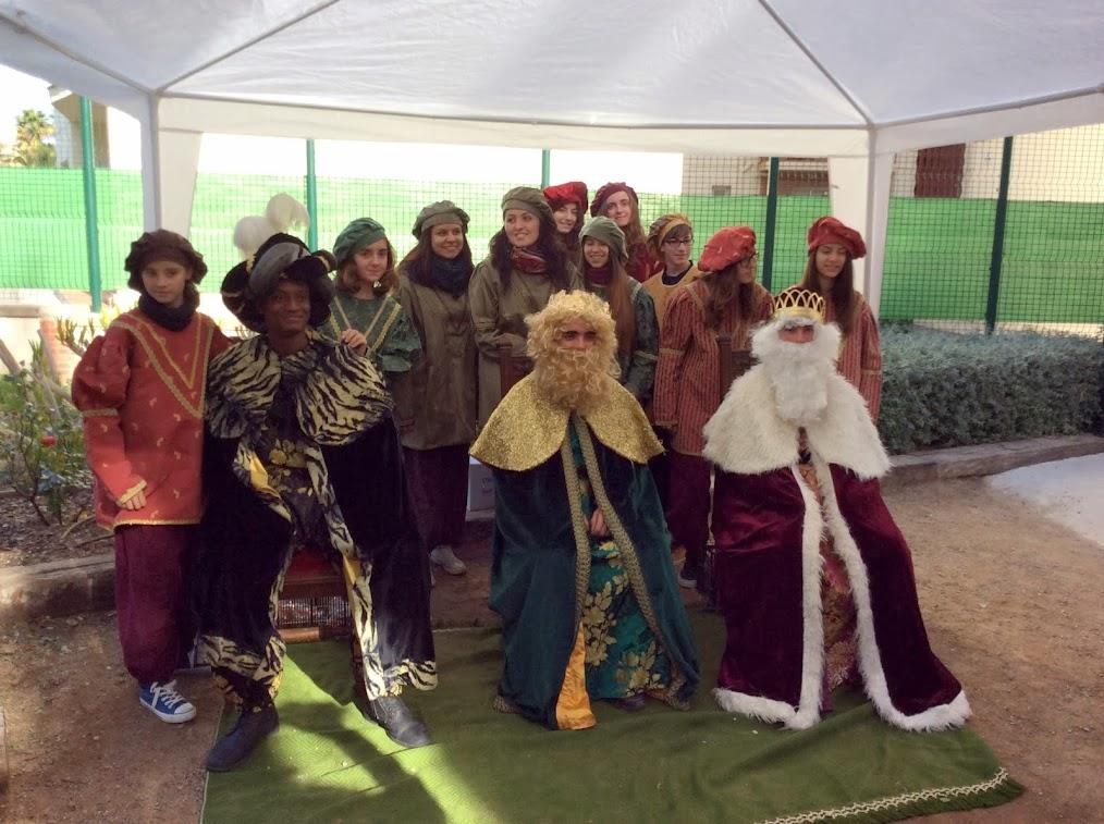 Els Reis Mags i els seus ajudants