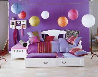 purple4 Purple in Tween and Teen Bedrooms 12