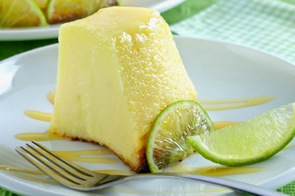 Pudim de Limão e Leite Condensado