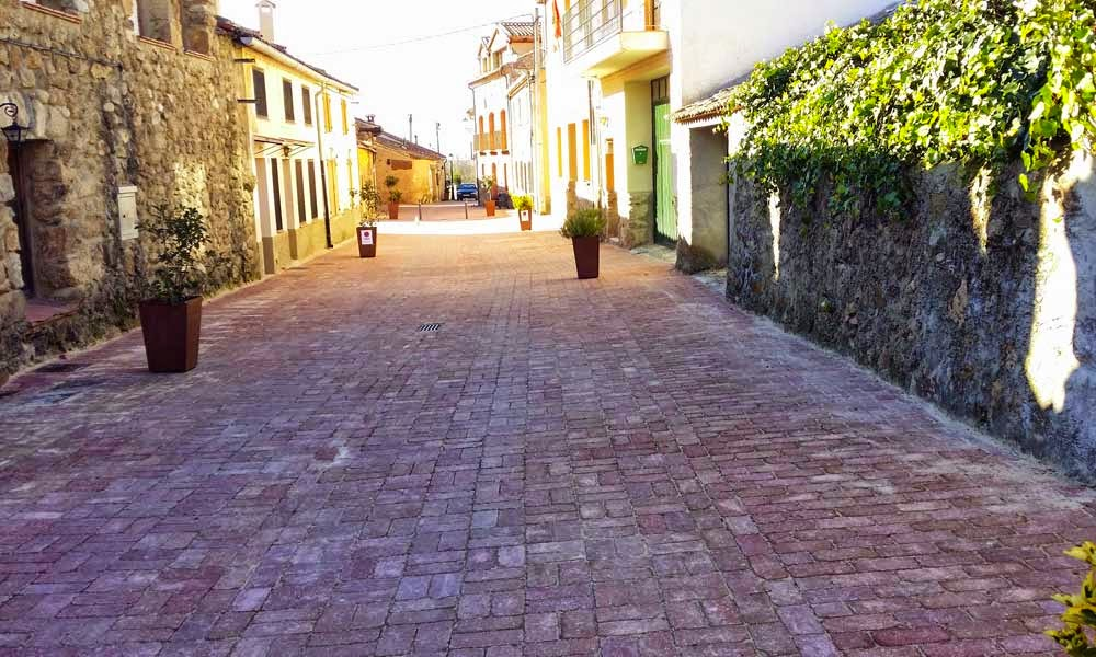 Obras calle Real