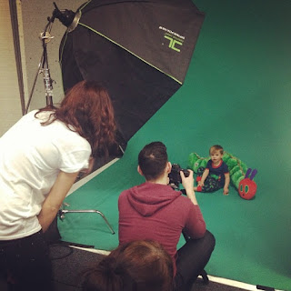 Hungry Caterpillar Photo Shoot for Zuliliy
