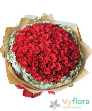 Bó hoa tươi Tình yêu vĩnh cửu
