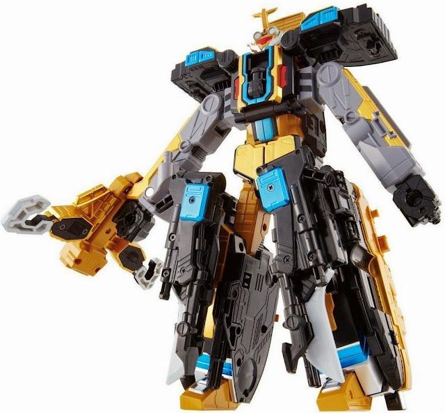Mô hình Robot BC-04 DX Go Buster Beat có chiều cao 25 cm