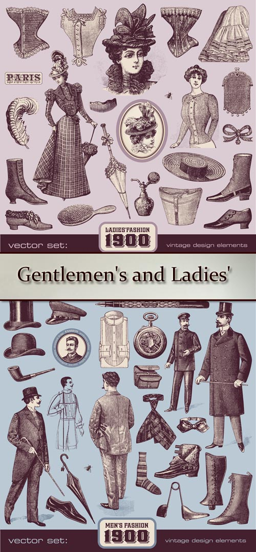 Stock: Gentlemen's and Ladies' Fashion and Accessories (1900)