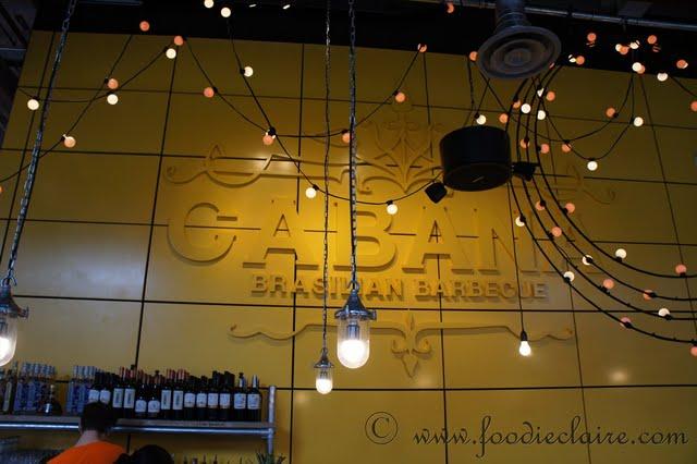 Cabana Brasilian Barbecue Restaurant