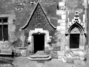 curtea interiooara a castelului