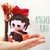 Kiki from Kiki's Delivery Service free amigurumi pattern.