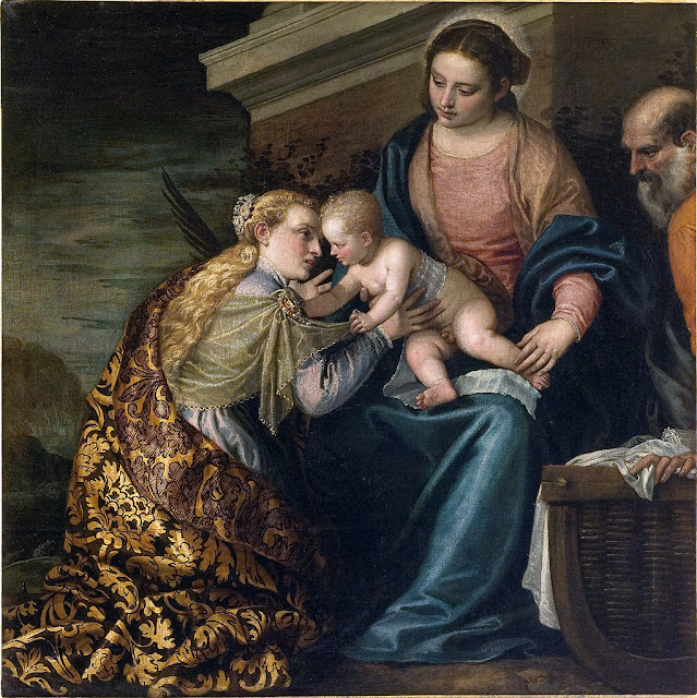 Paolo Veronese - The Mystic Marraige of St. Catherine