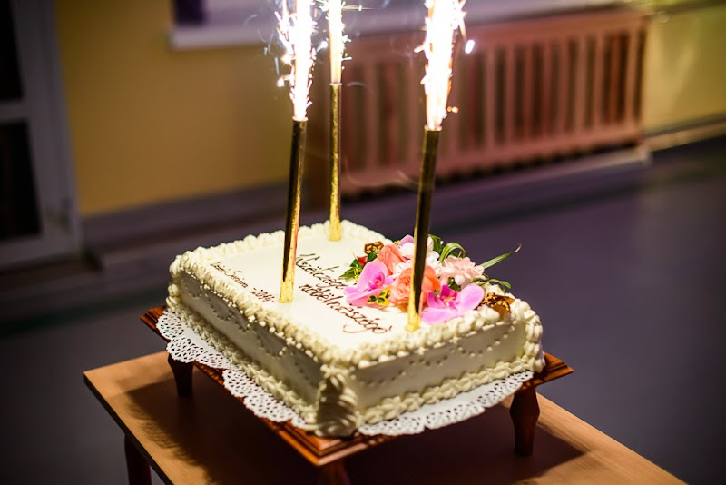 Dzień senioraw w Sychowie tort