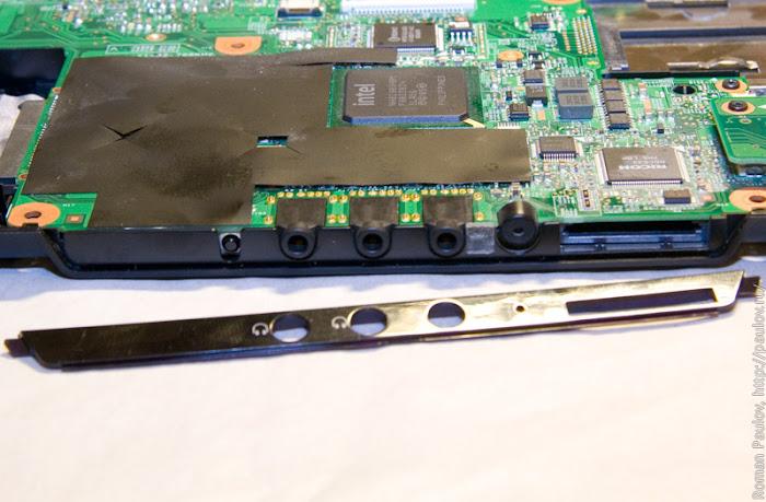 Как разобрать ноутбук Dell Inspiron 1525 34