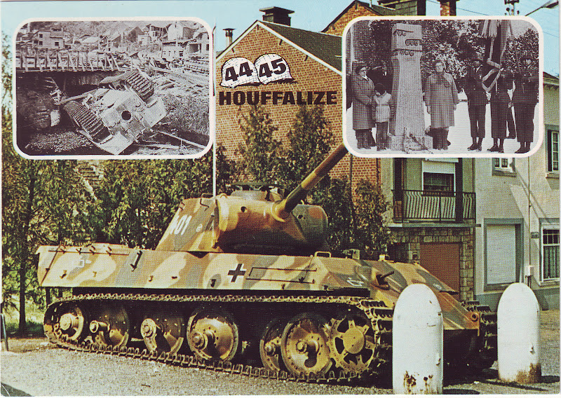Houffalize history ardennes 1944 secondworldwar german tank this german panzer is a panther tank pzkpfw v panther ausf g it carries the number 401 it was left up side down in the river after the publicscrutiny Gallery