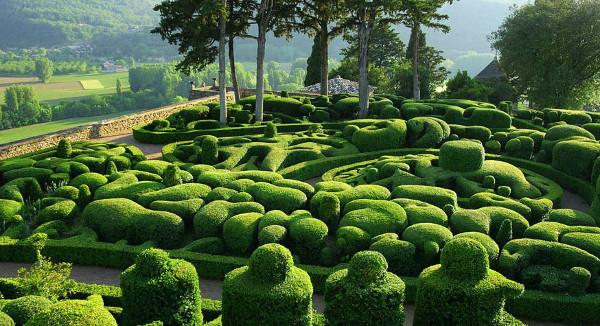 Gardens of Marqueyssac: Landskap Idamanku ~ EKSPRESIRUANG
