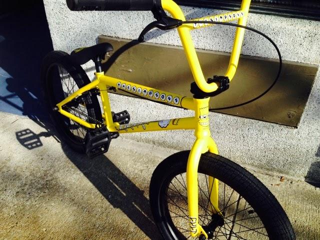 Cult Bart Simpson Bike circuit bmx