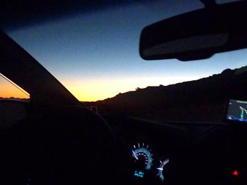 Driving Haleakala