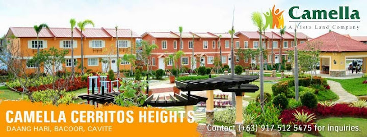 Community Overview - Camella Cerritos Heights | House and Lot for Sale in the Philippines