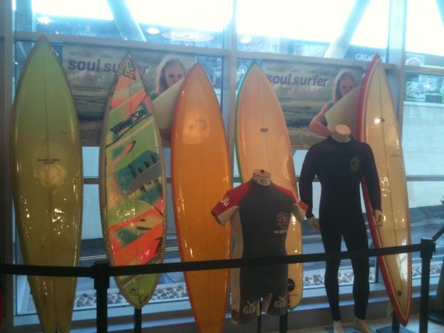 Soul Surfer film Premier Newquay wtw Cinema