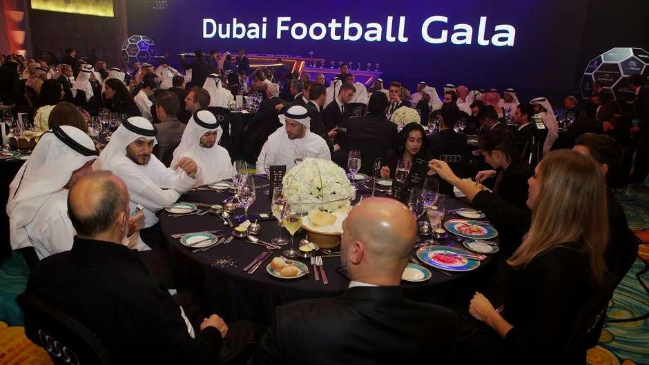 Sao bóng đá tụ hội tại lễ trao Globe Soccer Awards