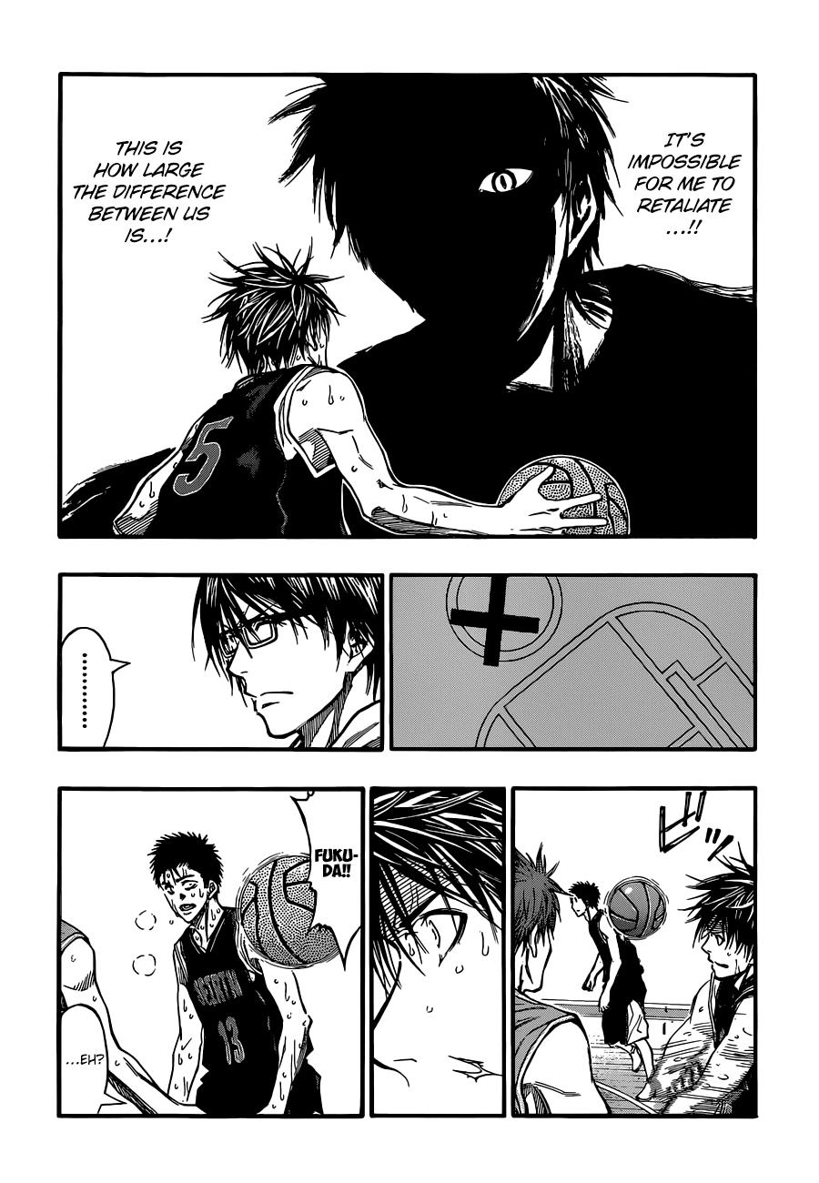 Kuroko no Basket Manga Chapter 245 - Image 06