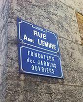 Des noms de rues Abbé Lemire