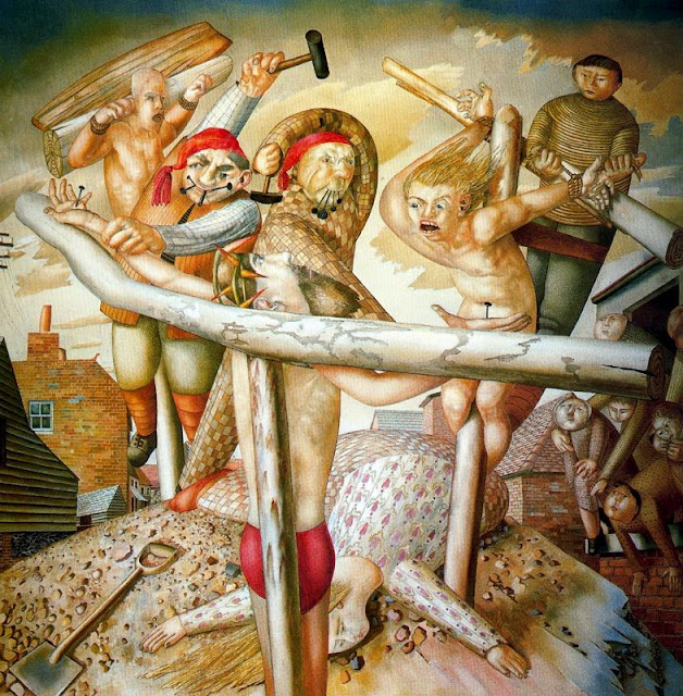 Stanley Spencer - The Crucifixion, 1958